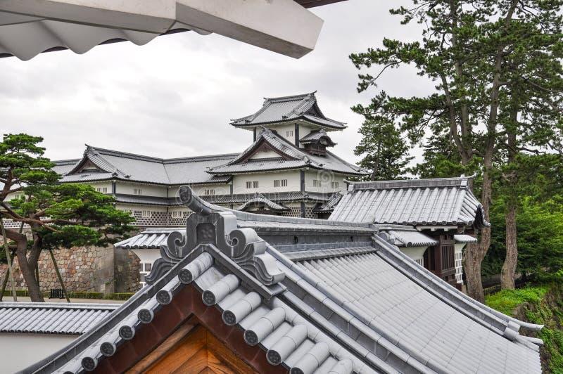 Castillo de Kanazawa fotografía de archivo libre de regalías