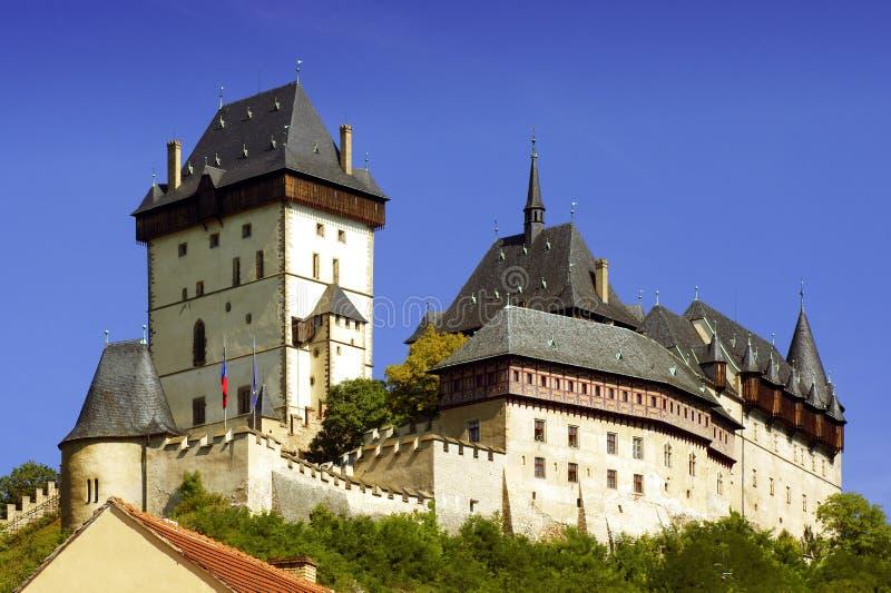 Castillo de Karlstejn. foto de archivo libre de regalías