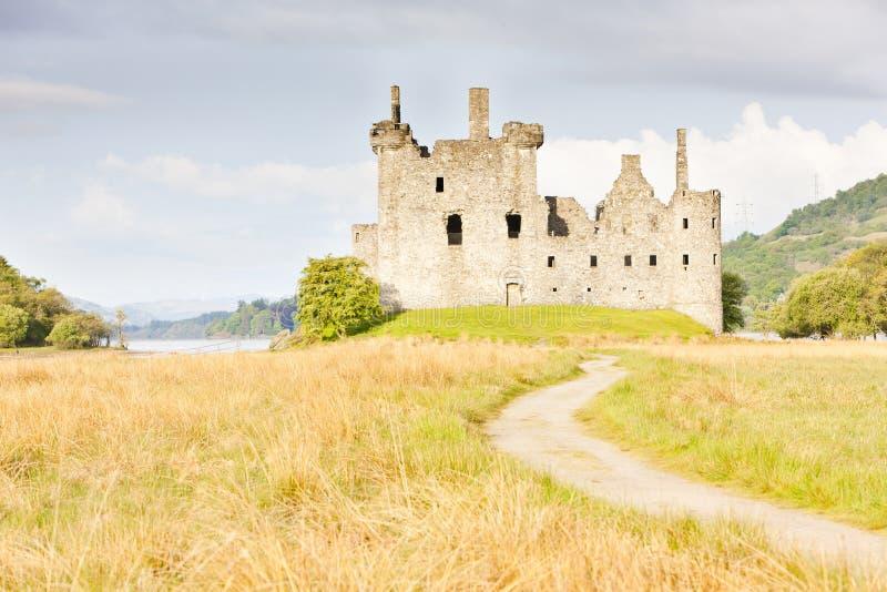 Castillo de Kilchurn fotos de archivo libres de regalías