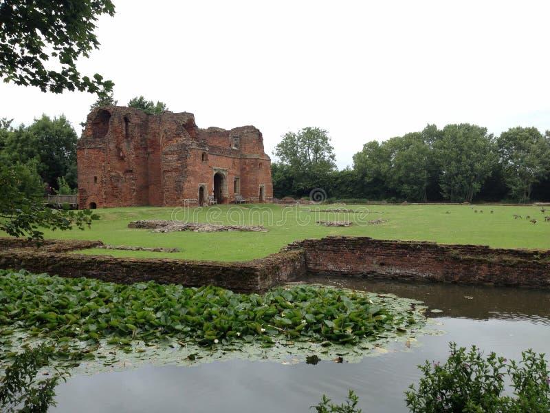 Castillo de Kirby Muxloe fotos de archivo