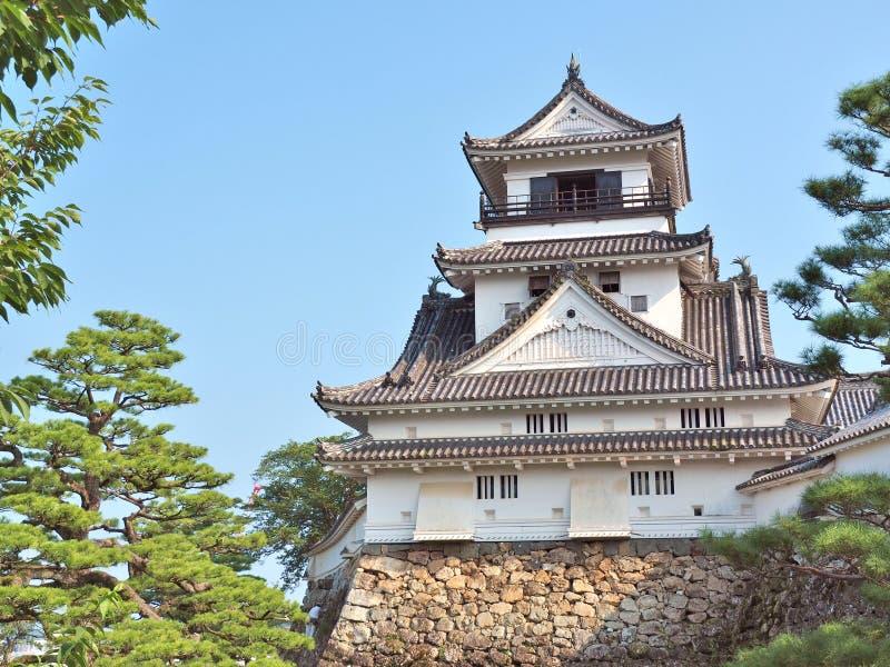 Castillo de Kochi en la prefectura de Kochi, Japón imagen de archivo libre de regalías