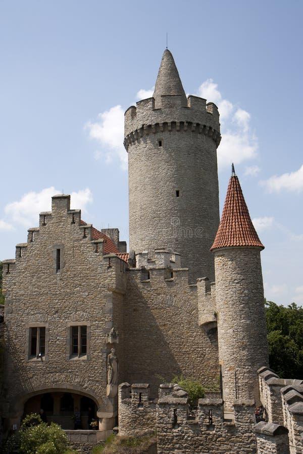 Castillo de Kokorin imagenes de archivo