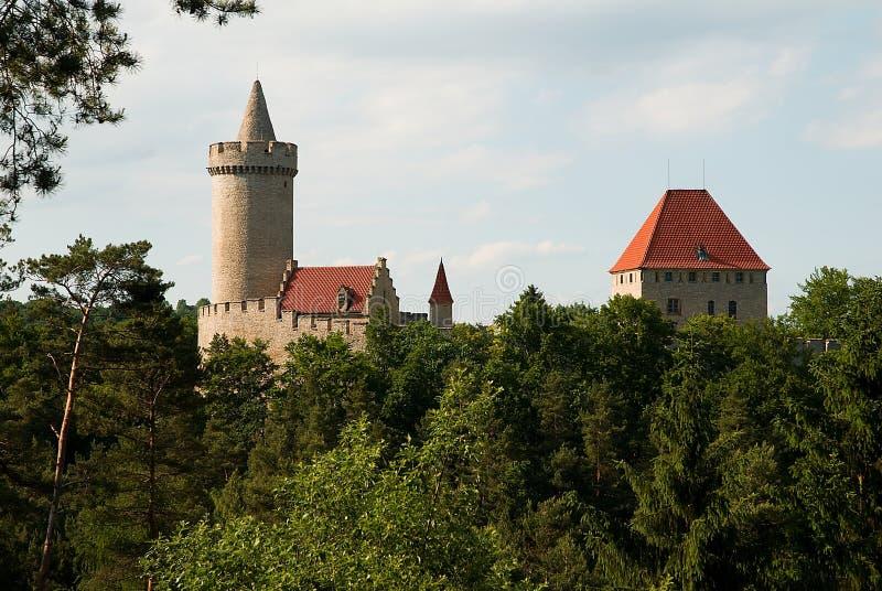 Castillo de Kokorin foto de archivo libre de regalías
