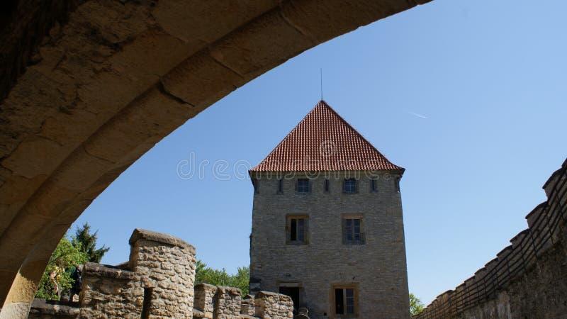 Castillo de Kokorin imagen de archivo