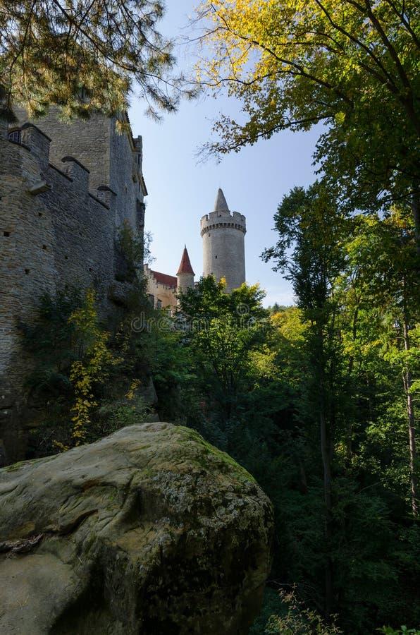 Castillo de Kokorin, República Checa fotografía de archivo