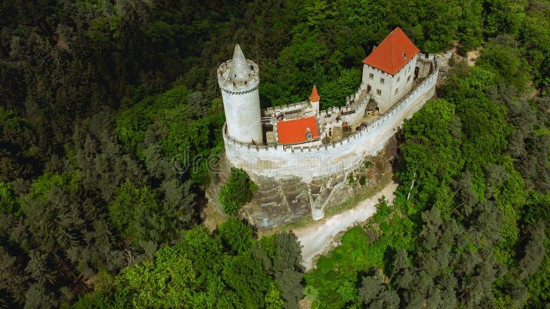 Castillo de Kokorin fotografía de archivo