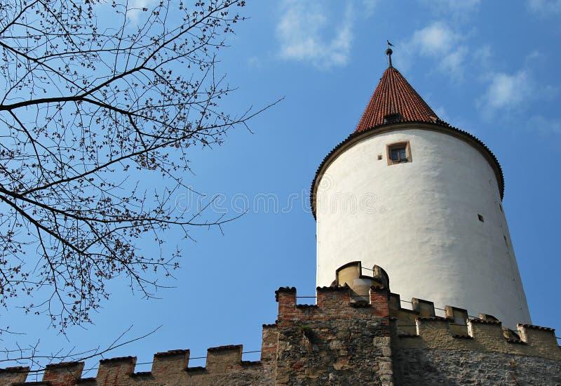 Castillo de Krivoklat imagen de archivo