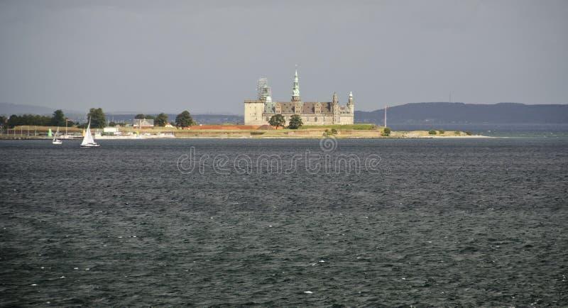Castillo de Kronborg, Helsingor (el castillo de Hamlet) imágenes de archivo libres de regalías
