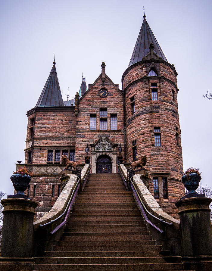 Castillo de Kronobergs imagen de archivo