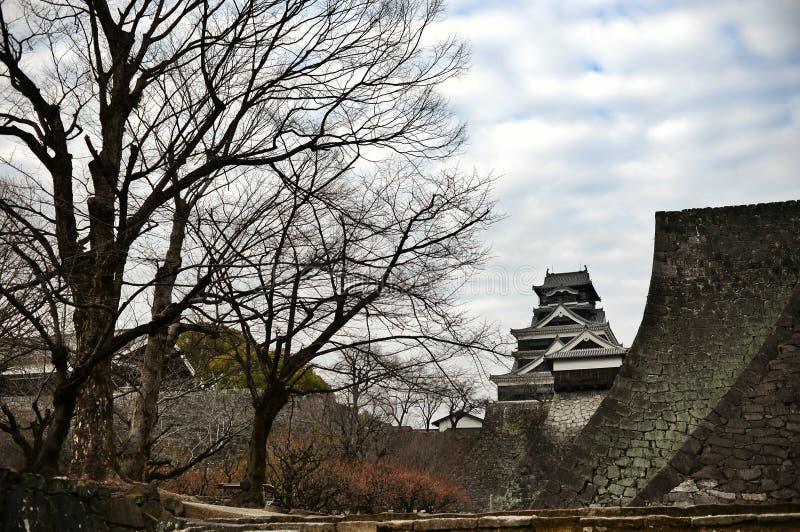 Castillo de Kumamoto imagen de archivo libre de regalías
