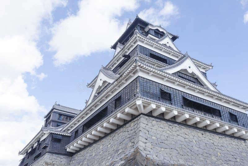 Castillo de Kumamoto en Japón imágenes de archivo libres de regalías