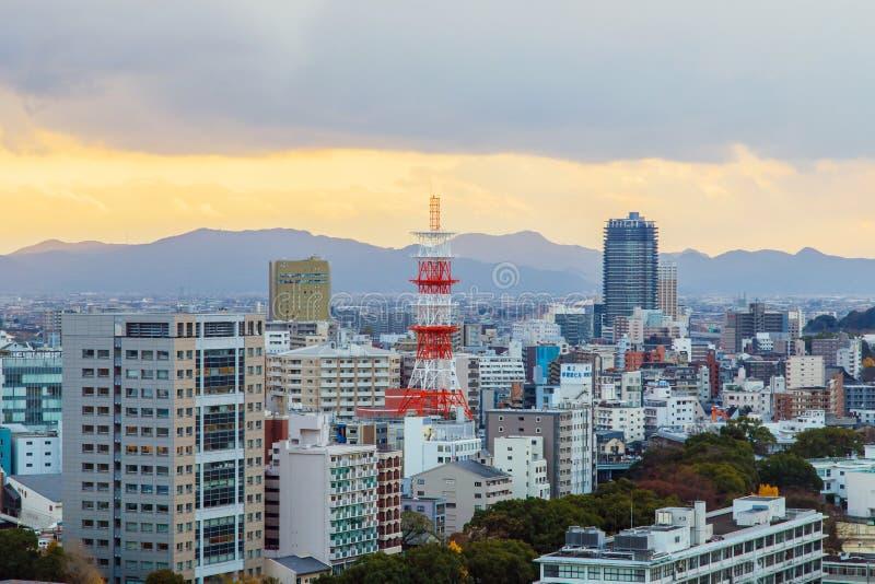 Castillo de Kumamoto, Japón, Kumamoto - 6 de diciembre de 2014 fotografía de archivo libre de regalías