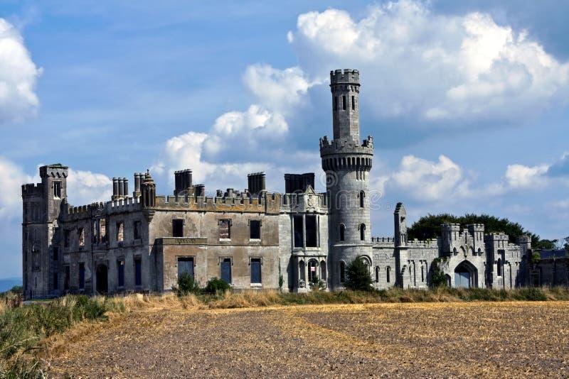 Castillo de la arboleda de Duckett foto de archivo