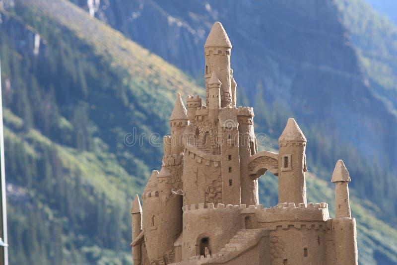 Castillo de la arena fotos de archivo libres de regalías
