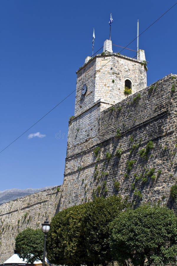 Castillo de la ciudad de Ioannina de Grecia foto de archivo