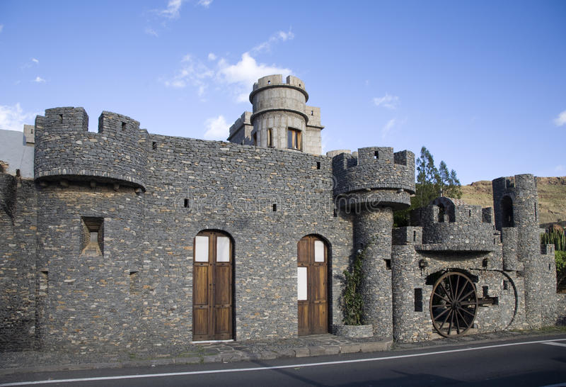 Castillo de la Forteleza foto de archivo