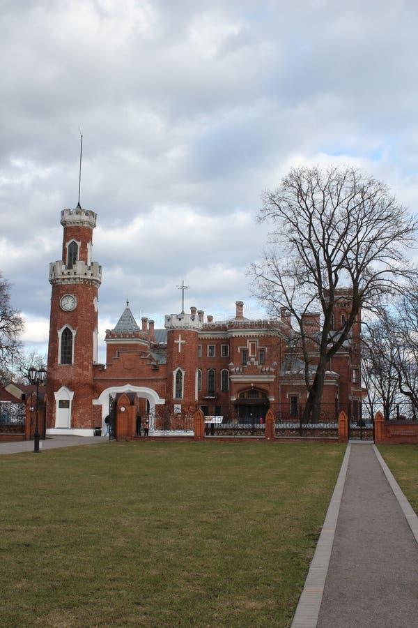 Castillo de la princesa Oldenburg en Ramoni imagen de archivo