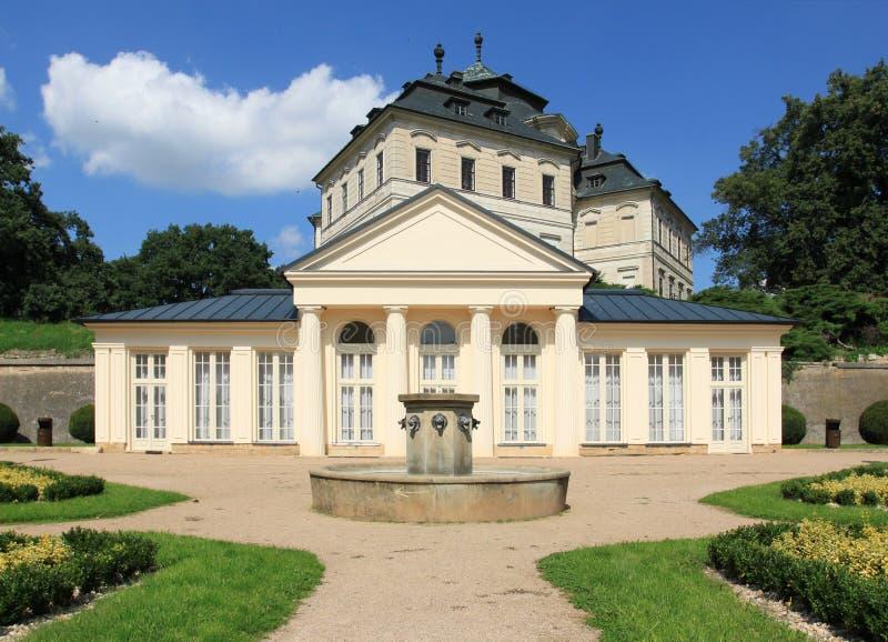 Castillo de la República Checa imagen de archivo libre de regalías