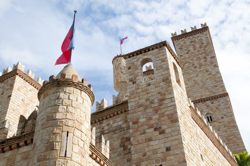 Castillo de Lamas, nahe zu Tarapoto, Peru lizenzfreies stockfoto