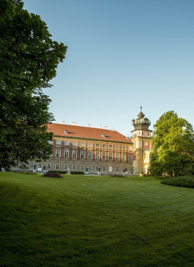 Castillo de Lancut, Polonia fotografía de archivo libre de regalías