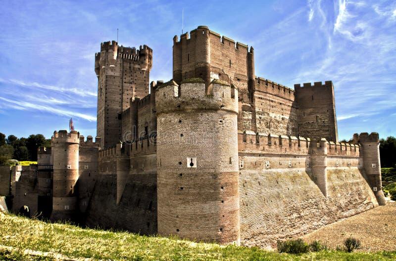 castillo De Los angeles Mota zdjęcie stock
