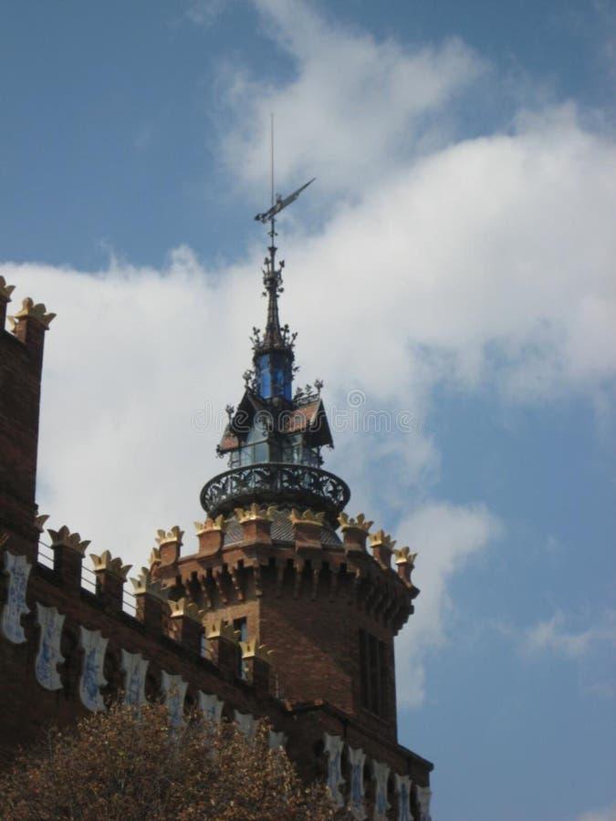 Castillo de los tres dragones foto de archivo libre de regalías