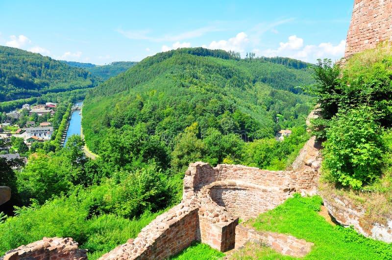 Castillo de Luetzelburg fotografía de archivo libre de regalías