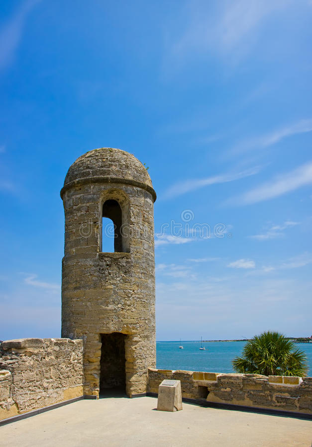 castillo De Marcos pomnikowy krajowy San fotografia royalty free