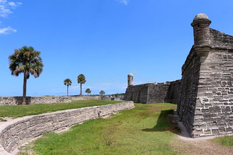 castillo de marcos san стоковое фото