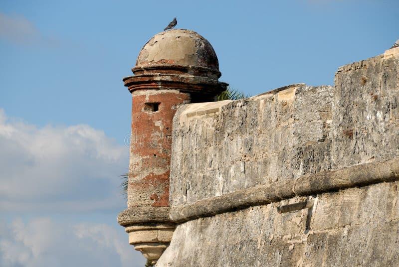 castillo de marcos san стоковые изображения rf