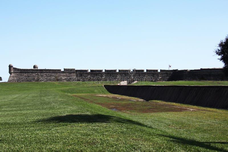 castillo de marcos SAN στοκ εικόνα