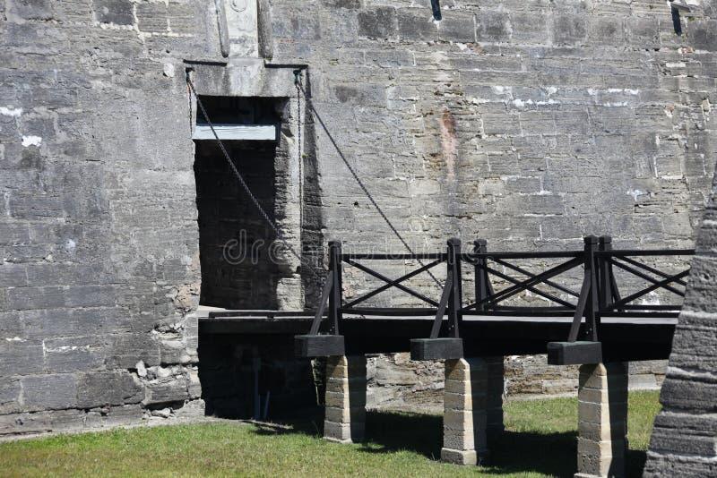 castillo de marcos san royaltyfri bild