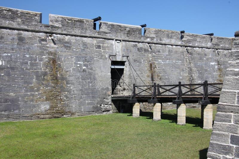 castillo de marcos san royaltyfria foton