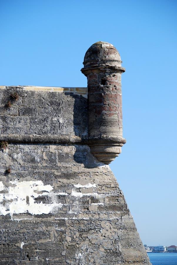 castillo de marcos san стоковое изображение