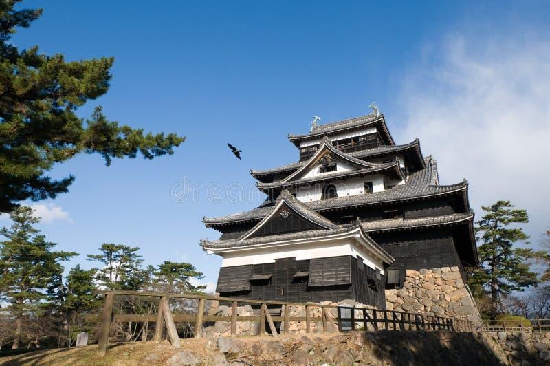 Castillo de Matsue foto de archivo