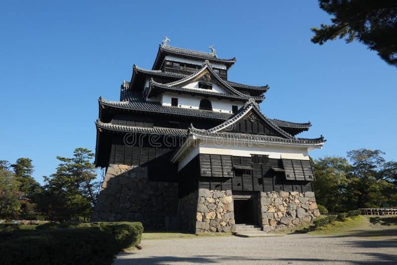 Castillo de Matsue fotos de archivo
