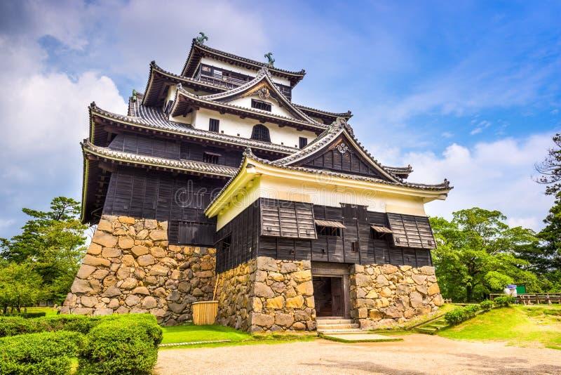 Castillo de Matsue, Japón fotografía de archivo libre de regalías