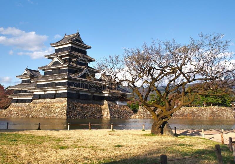 Castillo de Matsumoto en la prefectura de Nagano, Japón imagen de archivo libre de regalías