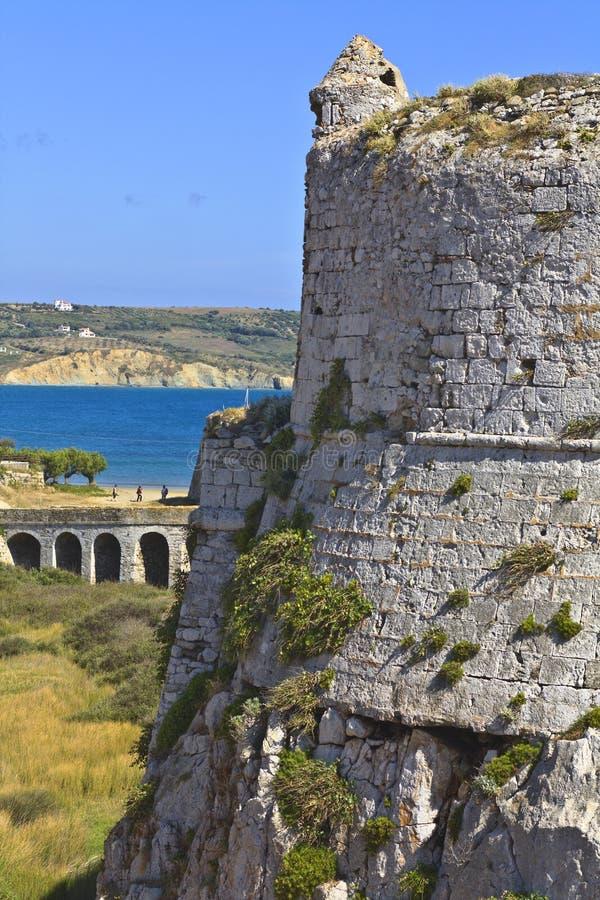 Castillo de Methoni en Grecia imagen de archivo libre de regalías