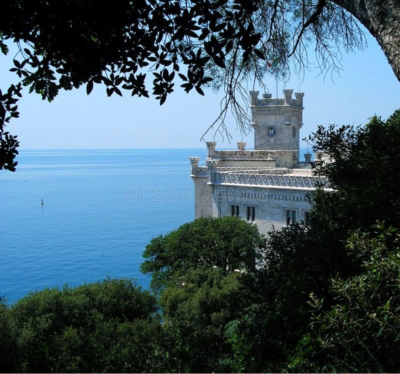 Castillo de Miramare imágenes de archivo libres de regalías