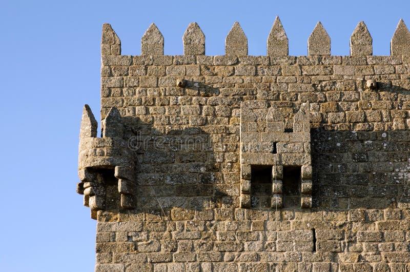 Castillo de Montalegre imagenes de archivo