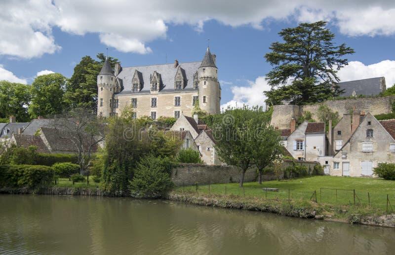 Castillo de Montresor imagen de archivo libre de regalías