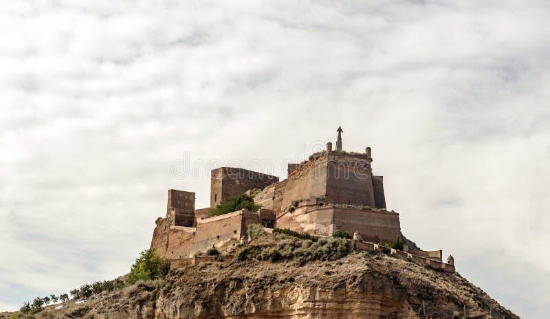 Castillo de Monzon fotografía de archivo