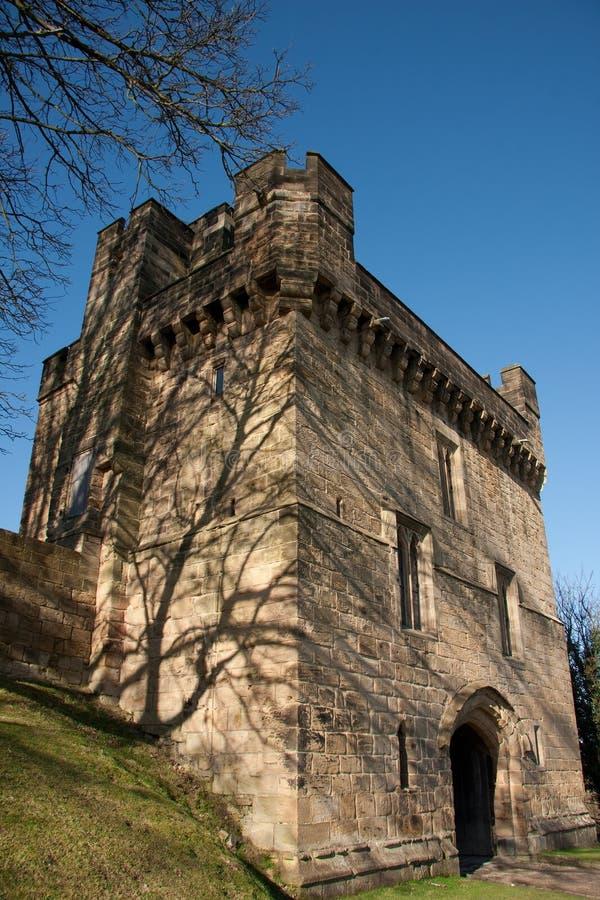 Castillo de Morpeth, Northumberland, Inglaterra fotos de archivo