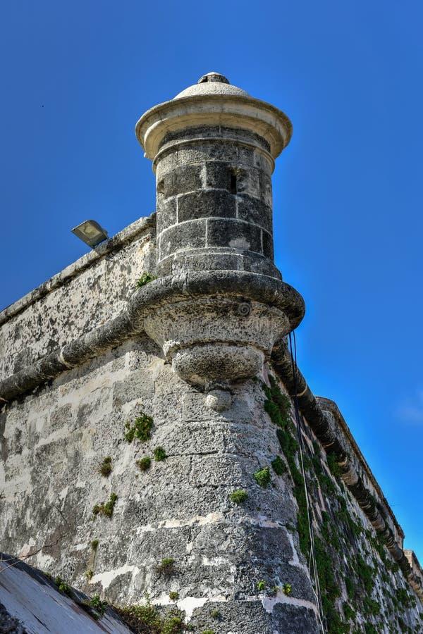 Castillo de Morro - La Habana, Cuba fotos de archivo