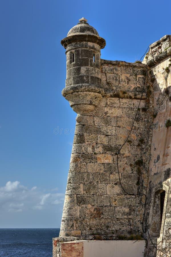 Castillo de Morro - La Habana, Cuba fotografía de archivo