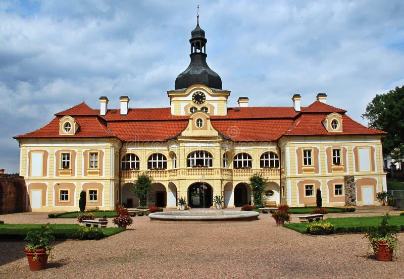 Castillo de Nebilovy fotografía de archivo libre de regalías