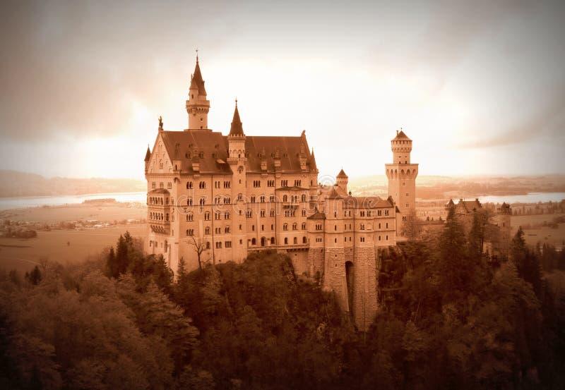 Castillo de Neuschwanstein imagen de archivo libre de regalías