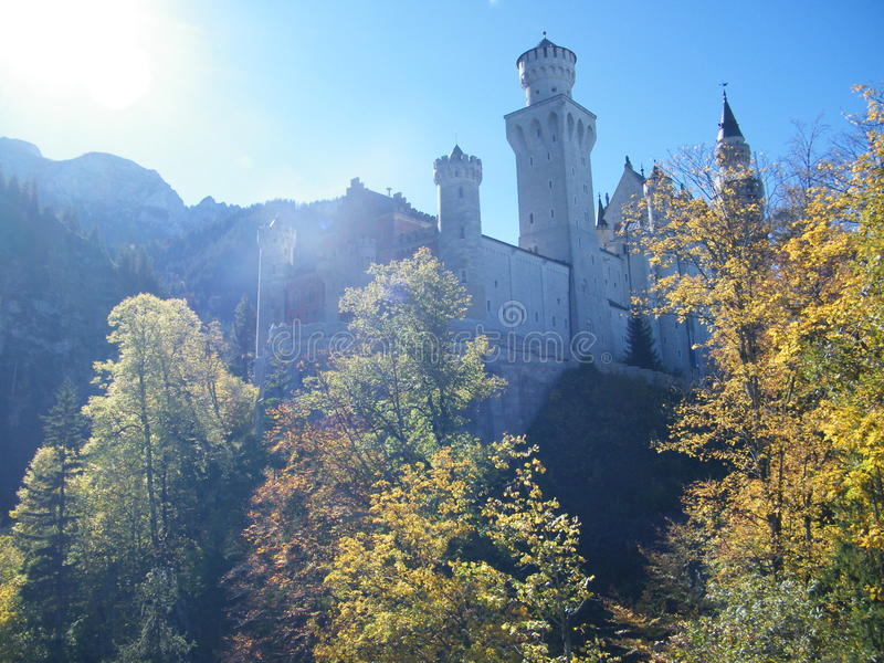 Castillo de Neuschwanstein obraz stock