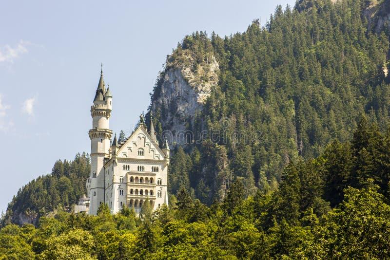 Castillo de Neuschwanstein, Alemania fotos de archivo libres de regalías